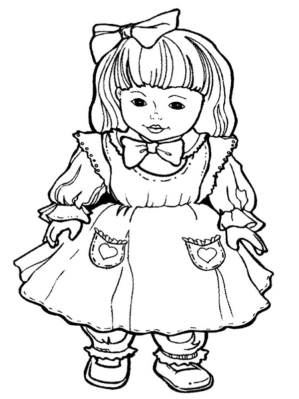 Раскраски для малышей девочек - 10